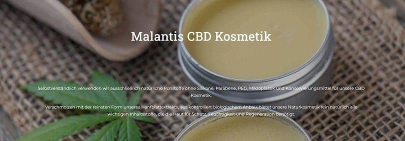 Malantis CBD Kosmetik Erfahrungen und Testbericht